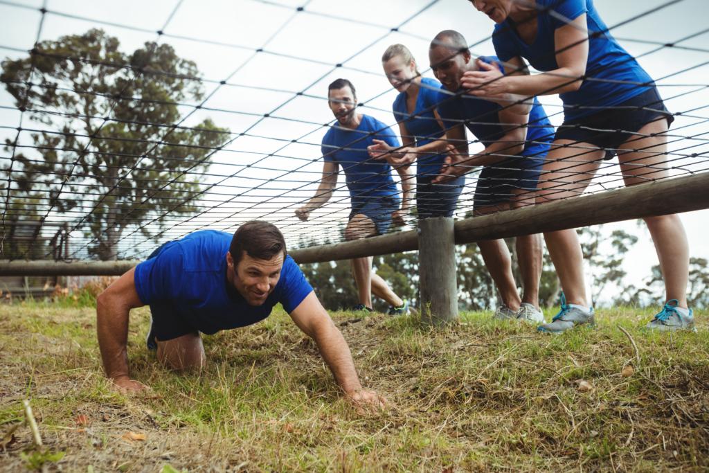 L'encadrement d'un Team Building professionnel Ultimate Leader dans l'Oise