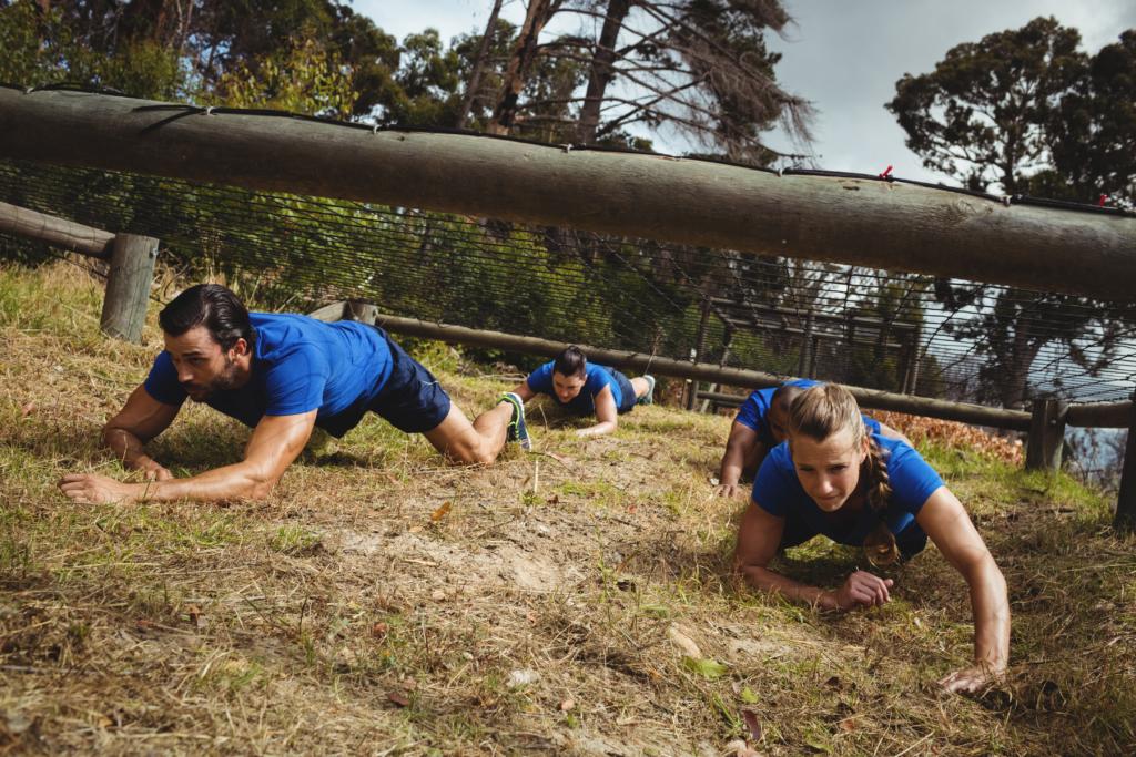 Motivation et détermination avec un Team Building de survie Ultimate Leader